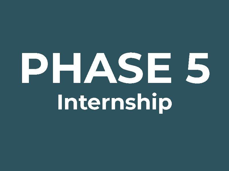 Phase 5: Internship