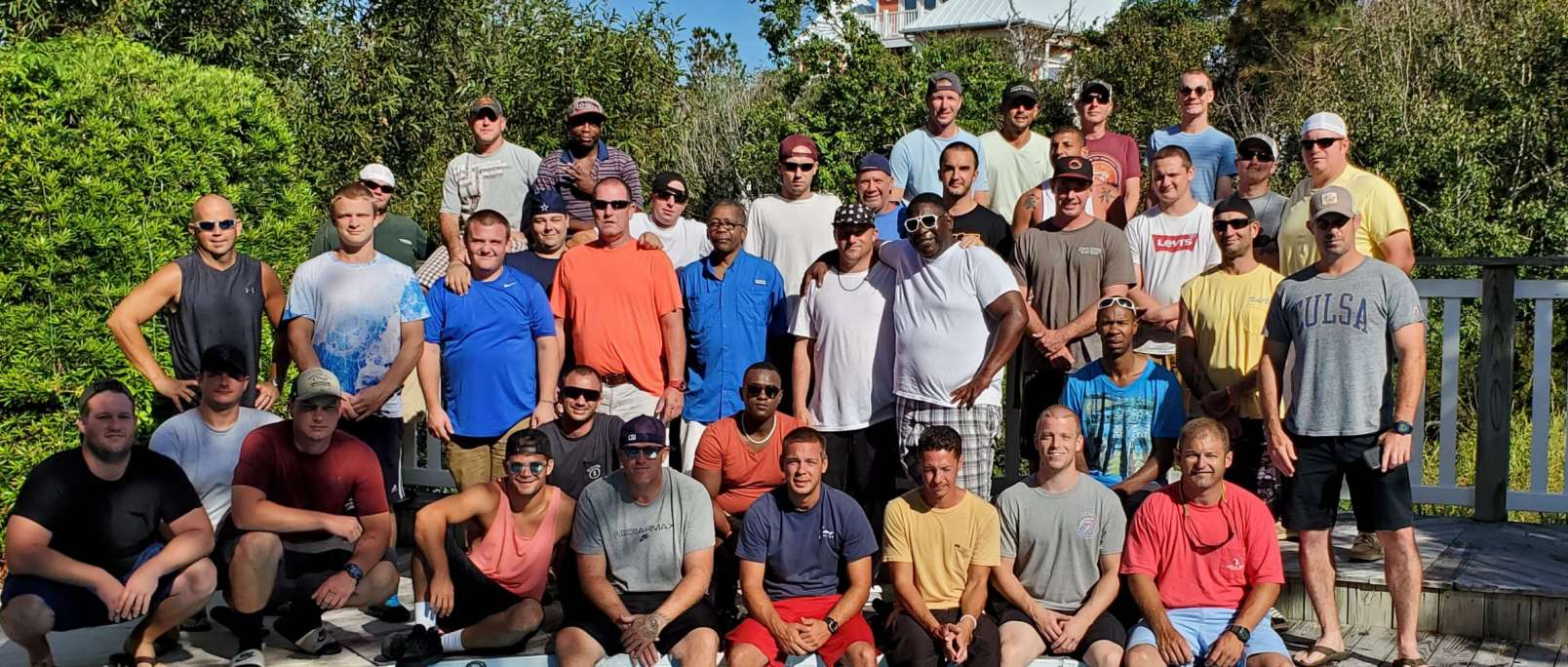 mens treatment center group therapy trip summer 2019 north carolina