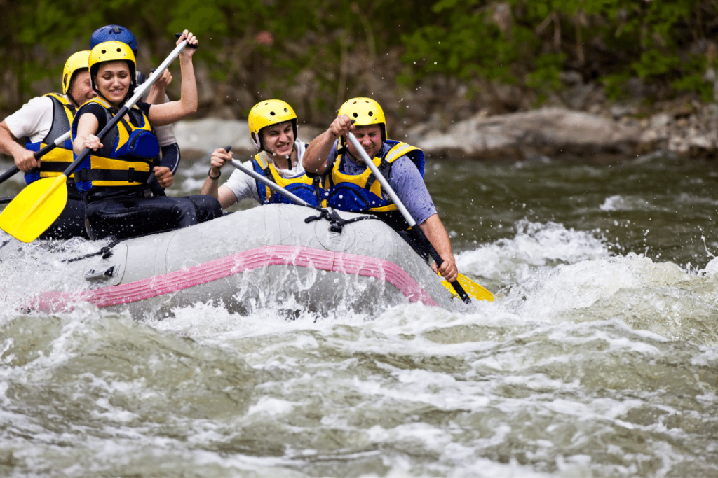 Recovery Ventures addiction treatment clients enjoying sober activities in asheville nc